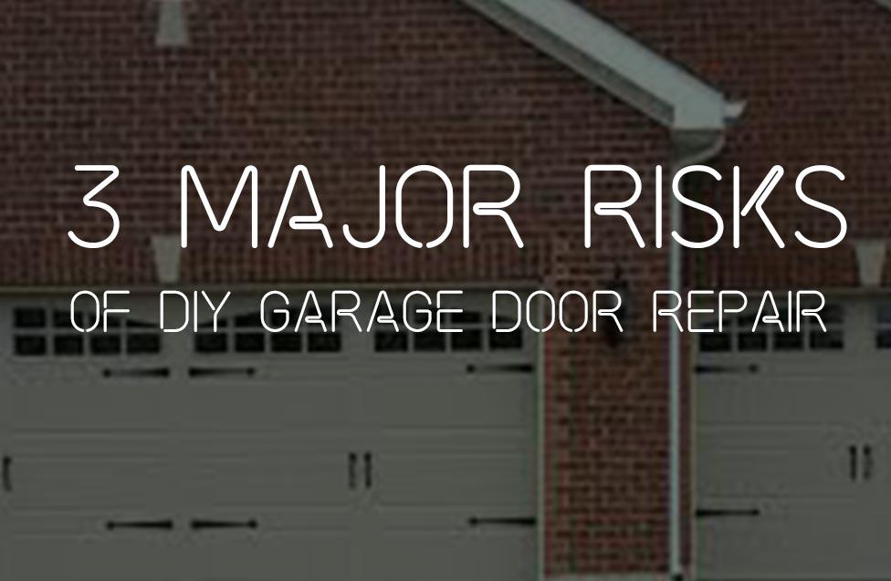 3 major risk of diy garage door